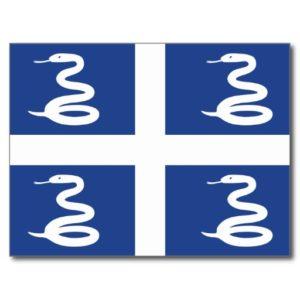 Martinique National Flag